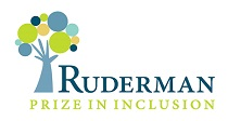 Ruderman Prize in inclusion logo