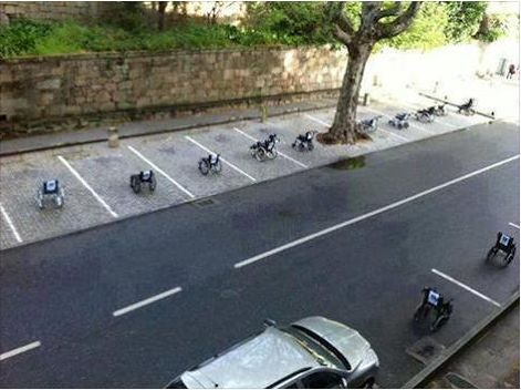 Drivers in Lisbon learn a valuable lesson