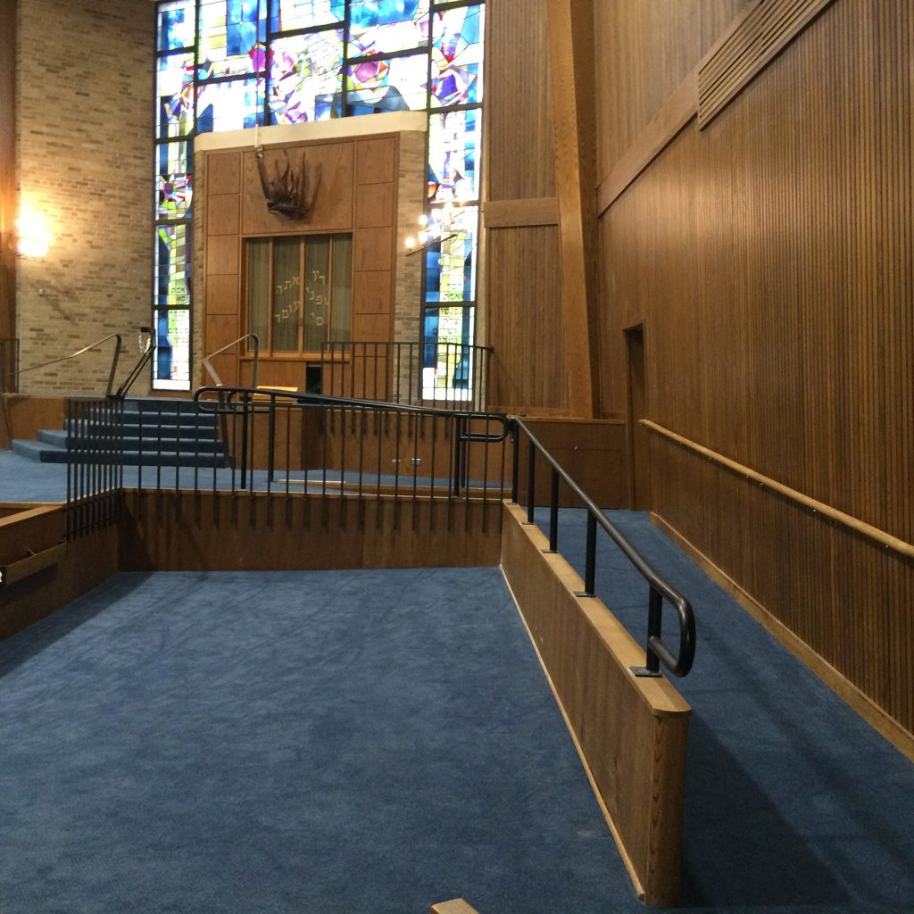 Making the synagogue ADA compliant