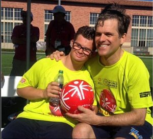 Athletes competing in the Special Olympics have earned the right to participate