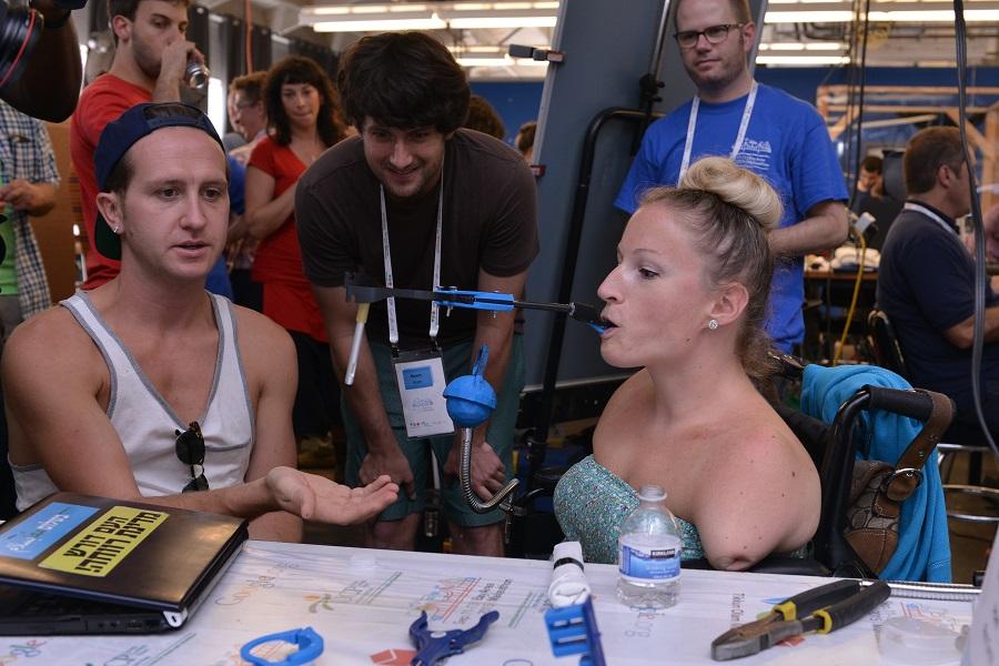Tikkun Olam Makers Makethon. (photo credit: Reut Group)